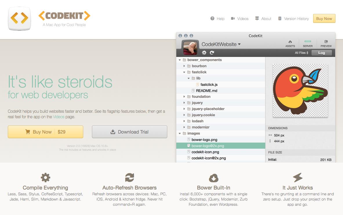 CodeKit: THE Mac App For Web Developers